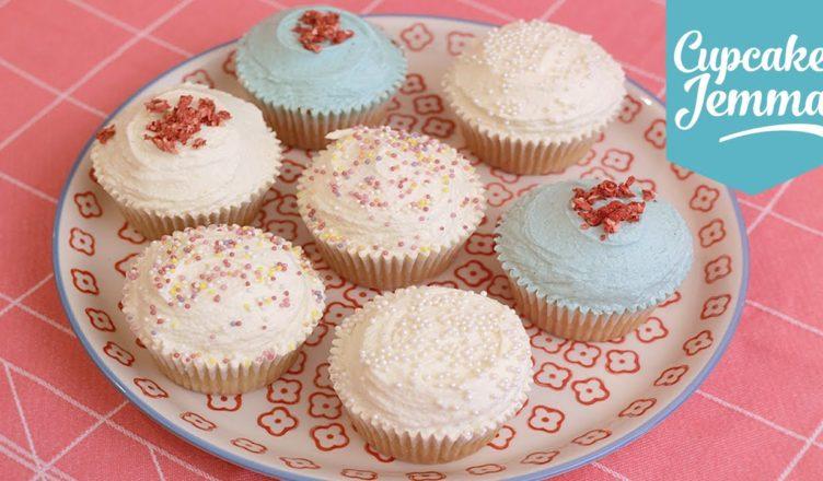 Cupcake Jemma Cake Recipe: Eggless Vegan Cupcake Recipe