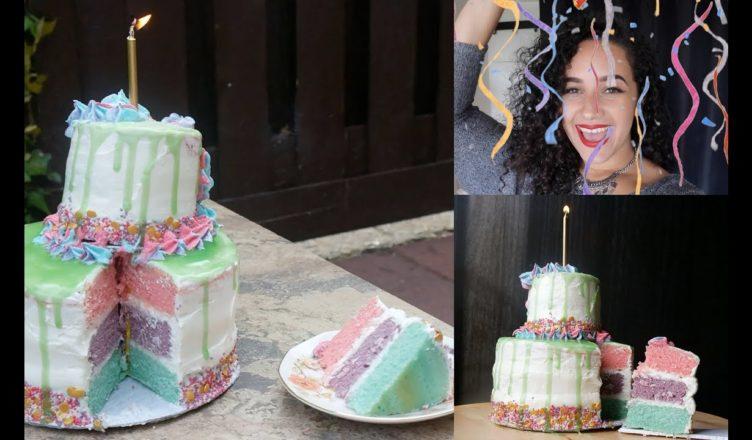 0f95d2cd4d2 UNICORN CAKE RECIPE FAIL + 1 Year YouTube Anniversary !!