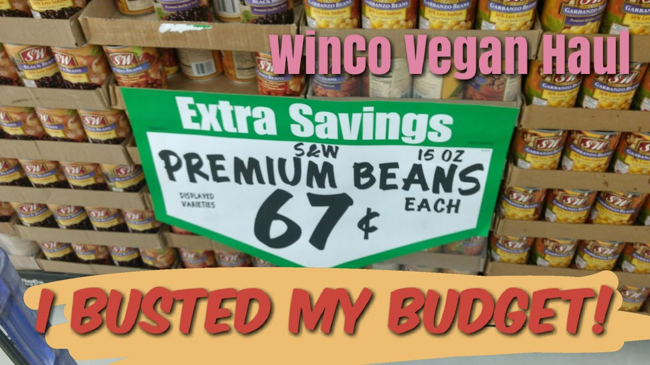 Vegan Grocery Haul at Winco! Vegan grocery shopping on a budget ...