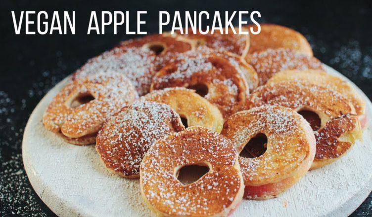 Vegan Apple Pancakes Mina Rome Amazing Vegan Recipes