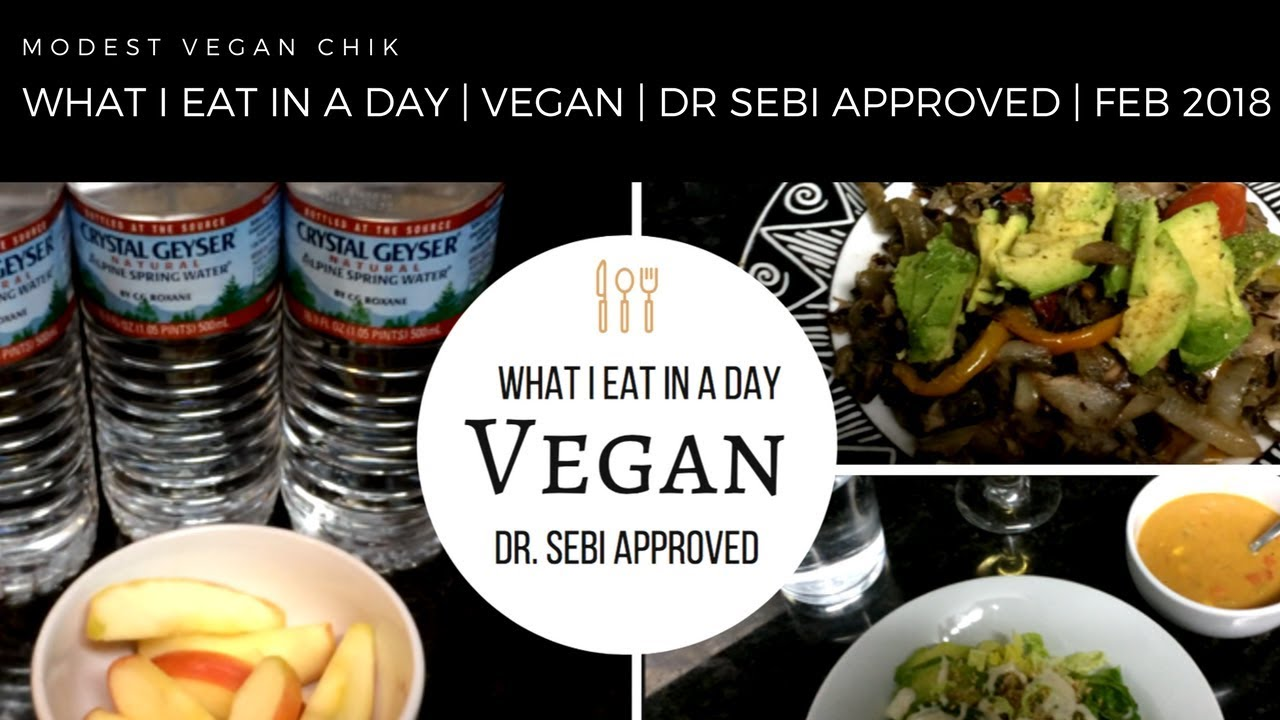 What I Eat In A Day | Vegan | Dr Sebi Approved | Alkaline