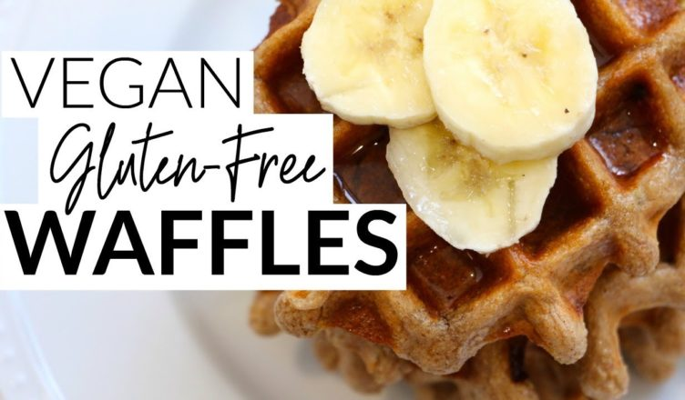 Vegan Gluten-Free Waffles Recipe | Amazing Vegan Recipes