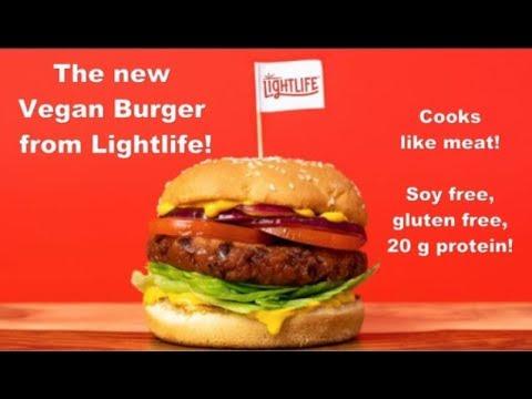 New Vegan Lightlife Burger Soy Free Gluten Free Meat