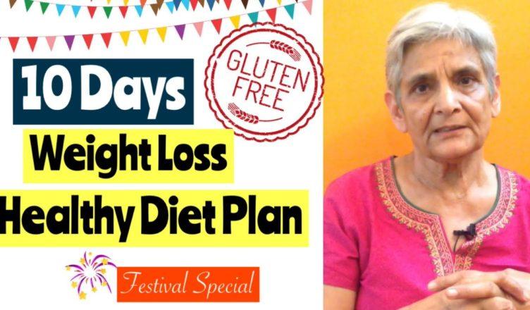 10 Days Gluten Free Weight Loss Vegetarian Diet Plan Navratri